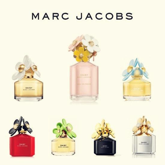 躺在雏菊里做美梦-MARC JACOBS经典香水