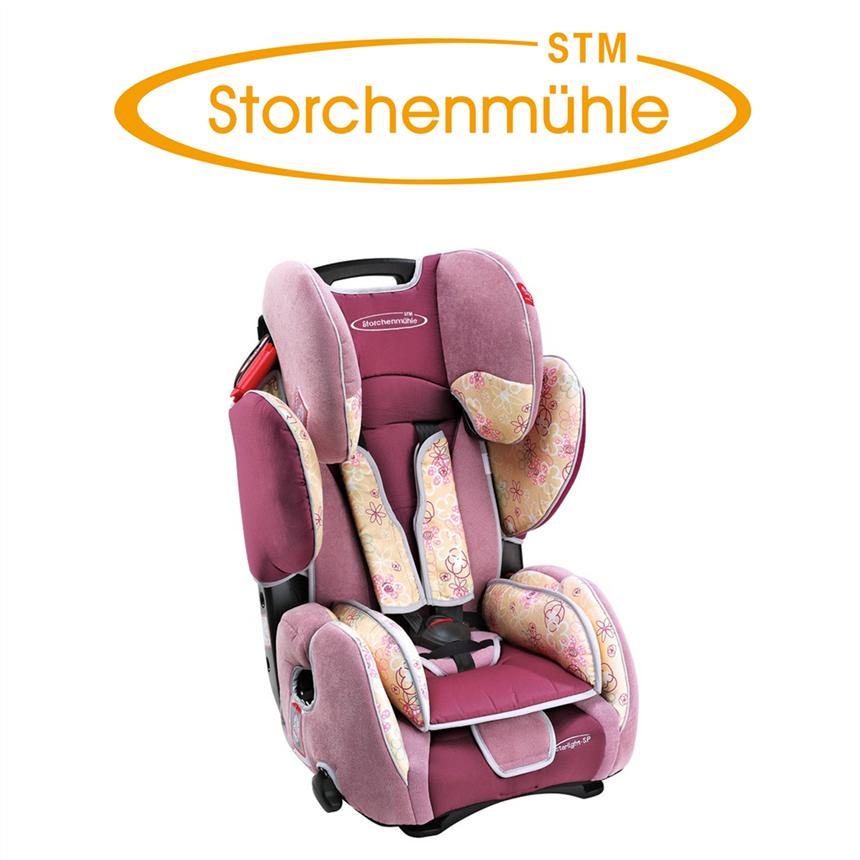 德国STM Storchenmühle Starlight SP 儿童安全座椅