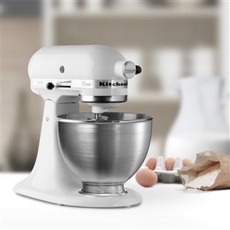 美国 Kitchen Aid 专业厨房料理机+冰淇淋配件