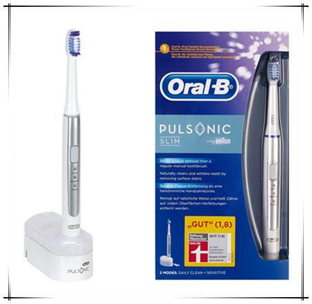 全新Oral-B Pulsonic Slim超薄声波电动牙刷