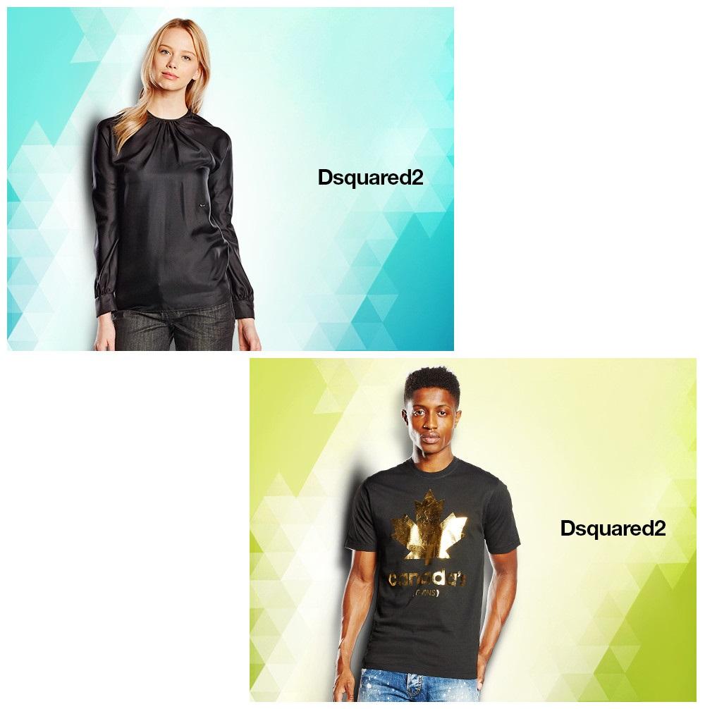个性与时尚的碰撞 Dsquared 2 男女服饰