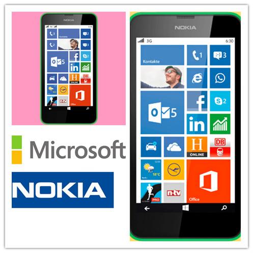 NOKIA Lumia 630 Dual-SIM绿色款