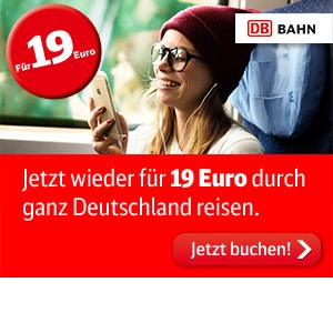 DB单程火车票价(包括ICE)