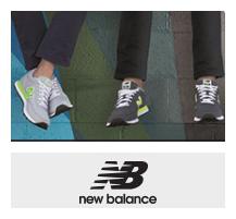 New Balance经典鞋款及运动休闲服饰