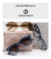 Emporio Armani+Giorgio Armani 眼镜集锦
