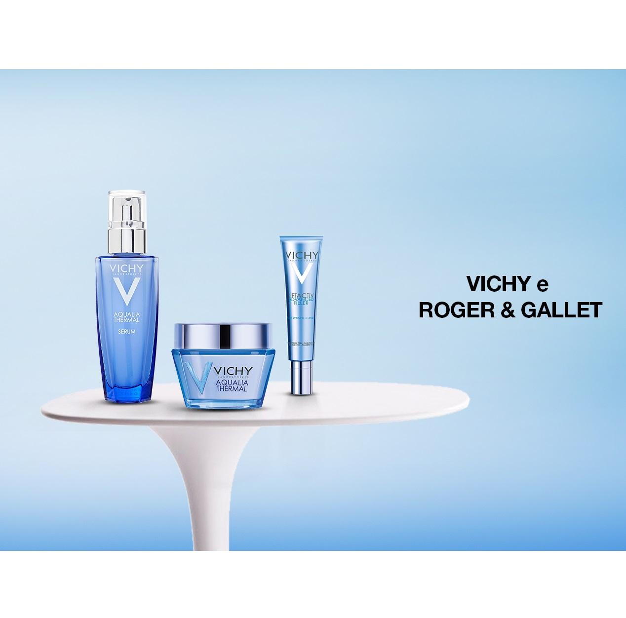 因健康而美丽 Vichy薇姿及Roger & Gallet