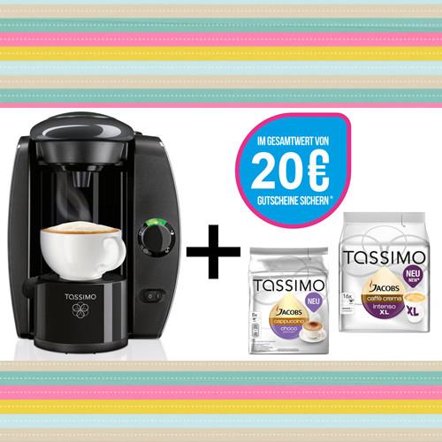 TASSIMO T4 咖啡机+Jacobs咖啡胶囊2包+20欧代金劵