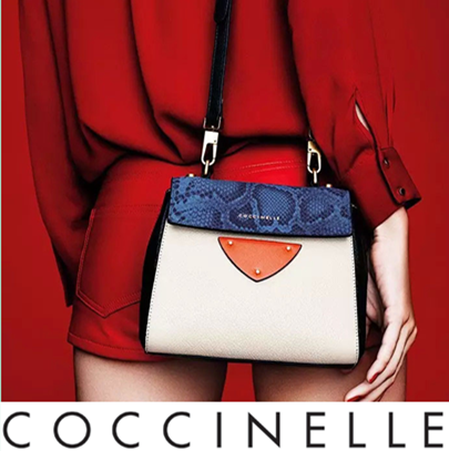 低调并奢华着 意大利小瓢虫Coccinelle女包