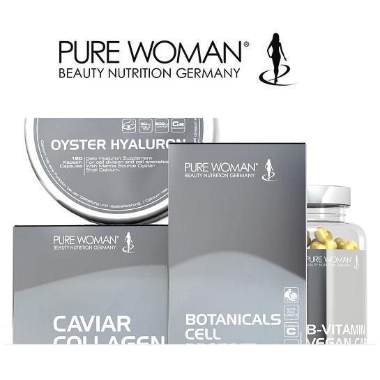 冻结你的美丽容颜 德国赫熙Hech Pure Woman纯娇源顶级鱼子胶原蛋白