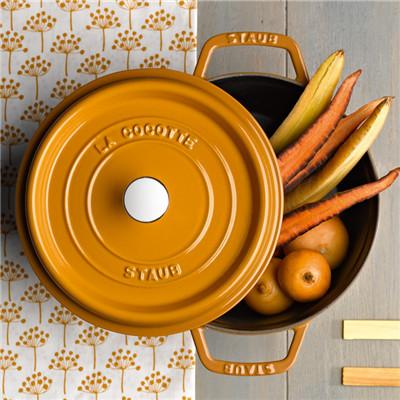 双立人旗下-法国Staub珐琅铸铁厨具