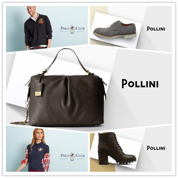 意大利奢牌Pollini男女鞋履包包/POLO CLUB男女休闲服