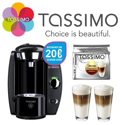 TASSIMO Fidelia 咖啡机+Jacobs咖啡胶囊+2只WMF咖啡杯+20欧代金劵