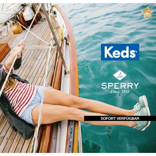 美国始祖级布鞋品牌Keds和美国帆船鞋代表品牌Sperry-Top闪购