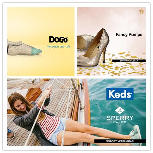 美国帆布鞋KEDS和SPERRY荟萃/手绘风潮 DOGO鞋履/FANCY PUMPS 高跟鞋集锦