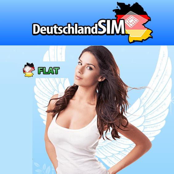 德国全网通话短信免费+1GB LTE高速上网