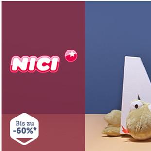 欧洲人气第一的质感毛绒玩具NICI专场