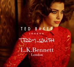 Ted Baker&Teddy Smith&LK Bennett男女服饰及鞋履