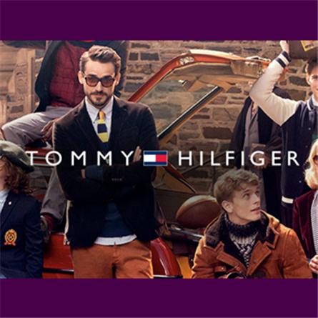 美式经典 Tommy Hilfiger V领套头衫多色