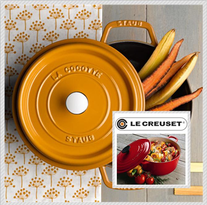 法国Le Creuset/Staub珐琅铸铁厨具