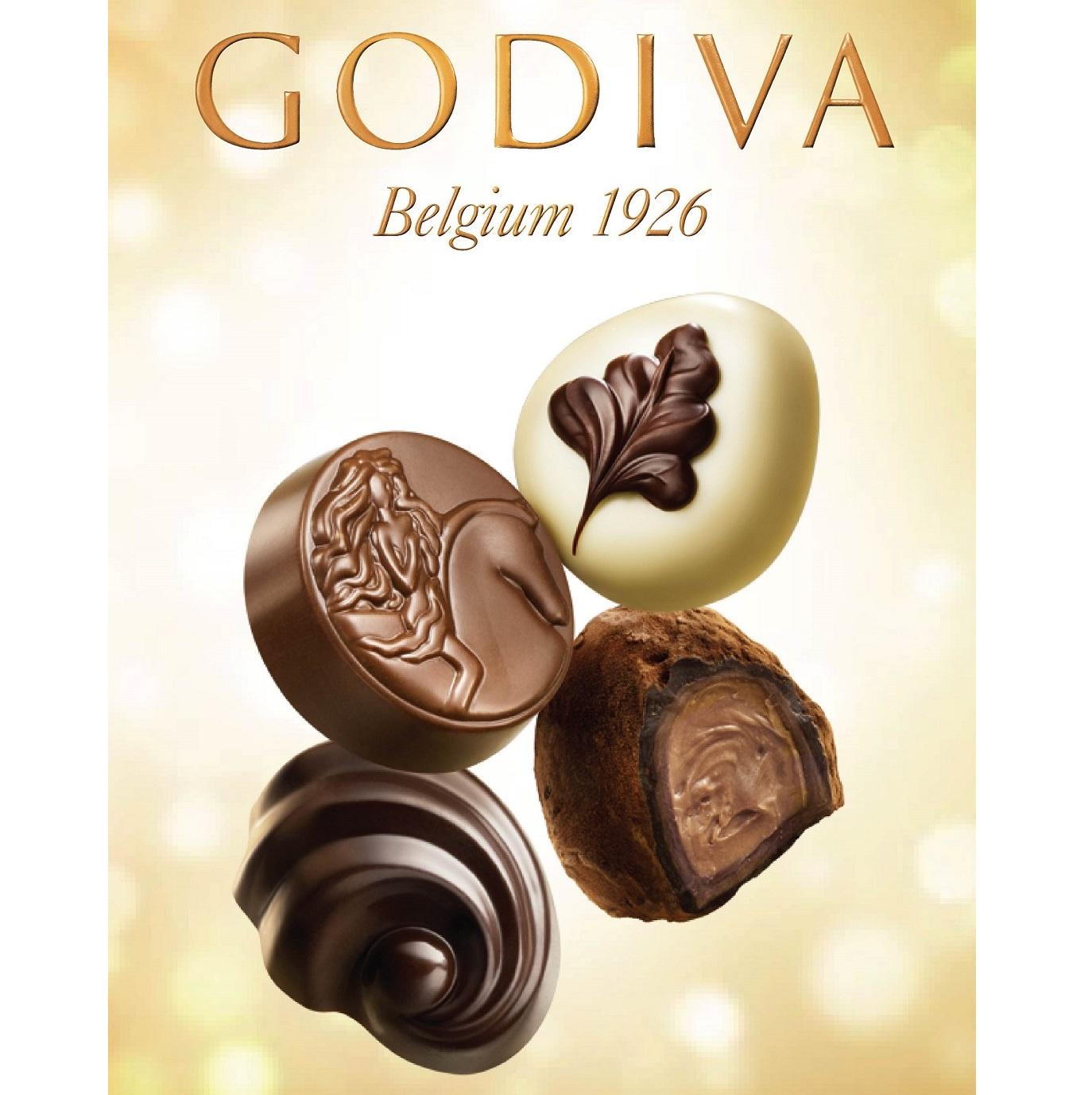 不止是块巧克力 Godiva巧克力