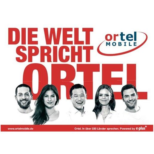 Ortel无合同无月租手机电话卡