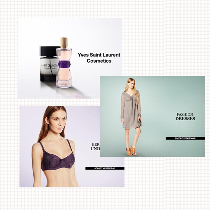 YVES SAINT LAURENT美妆香水系列/多品牌内衣特卖/时尚连衣裙集锦