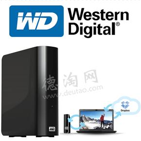 WD西部数据 My Book外置硬盘 4TB