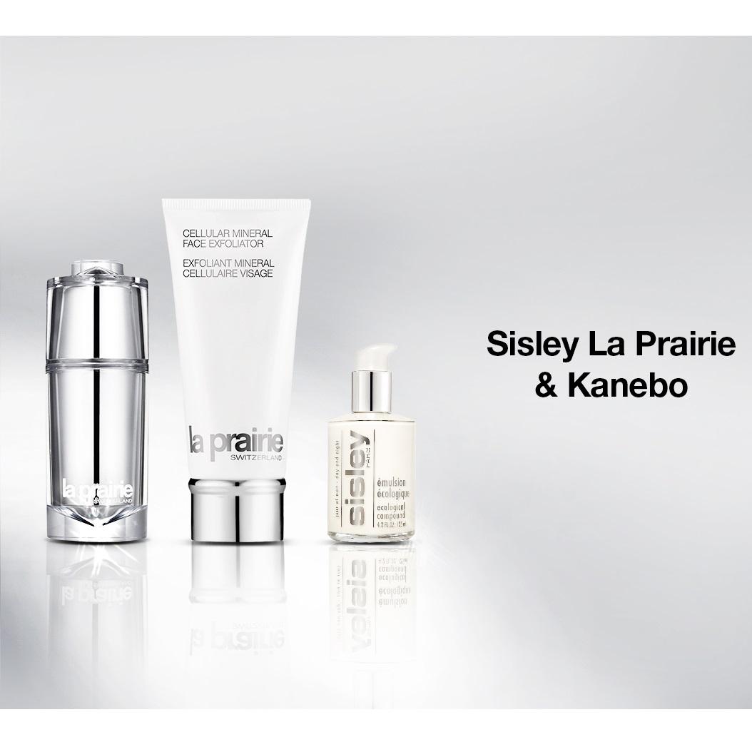 Sisley,La Prairie & Kanebo护肤品