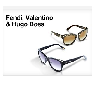 FENDI,VALENTINO & HUGO BOSS太阳镜闪购