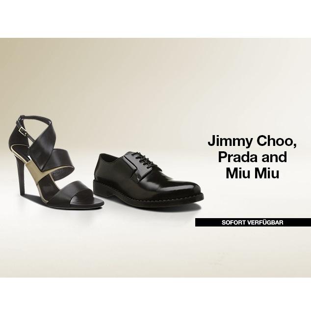 Jimmy Choo,Prada&Miumiu鞋履
