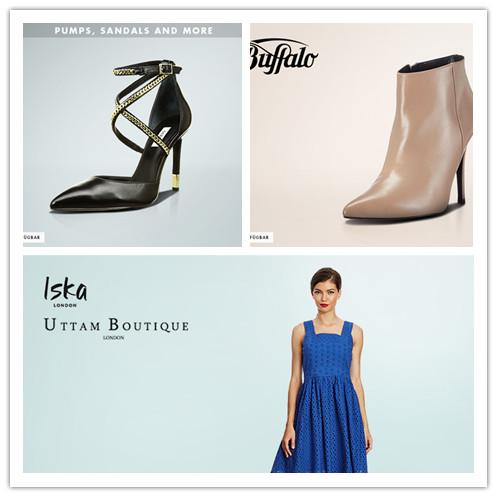 Iska & Uttam Boutique女装/Buffalo女鞋/多个好牌女鞋精选