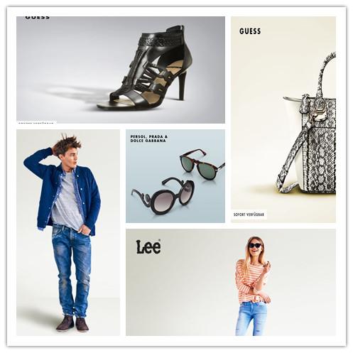 Guess美鞋与潮包/Prada+Dolce & Gabbana太阳镜
