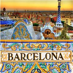 高迪的彩色王国 巴塞罗那城市深度游