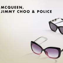 McQueen,Jimmy Choo等大牌太阳镜