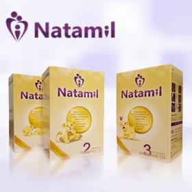 接近母乳 德国高端奶粉Natamil新包装升级版