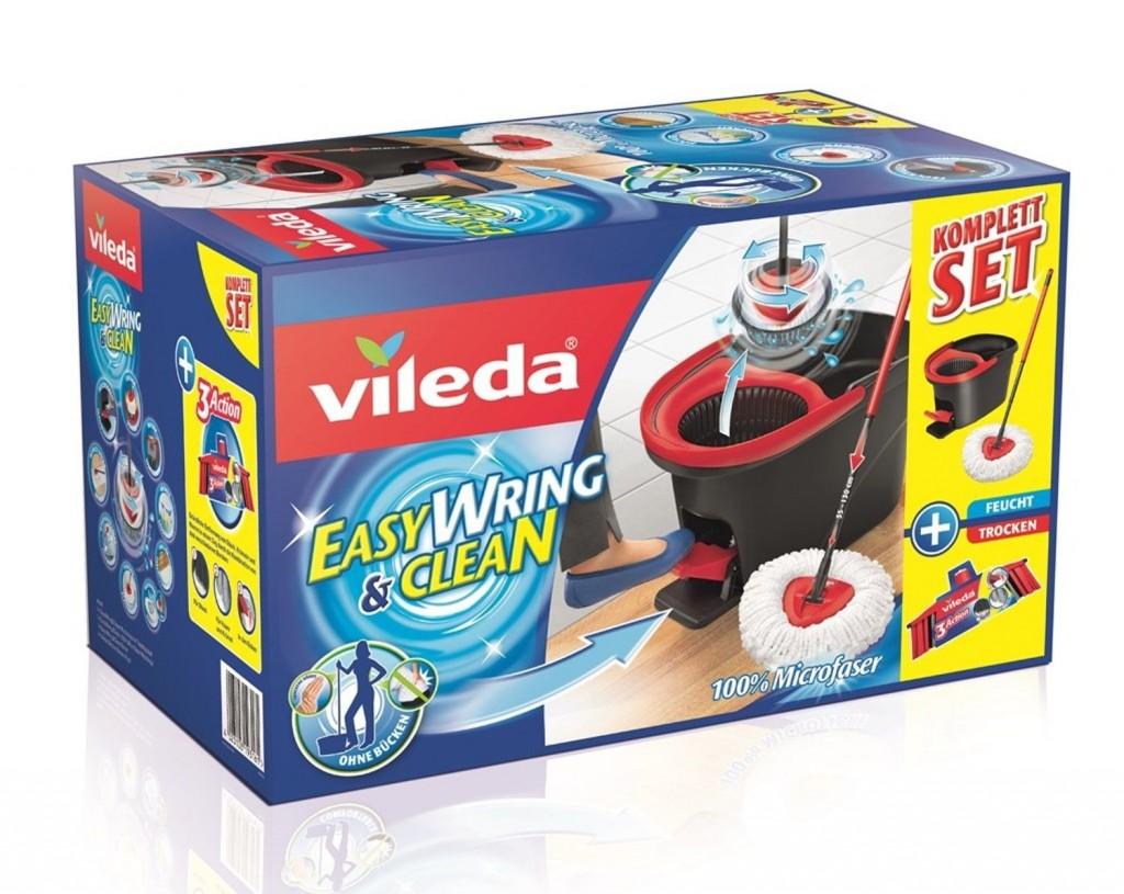 德国Vileda Easy Wring & Clean 拖把清洁套装