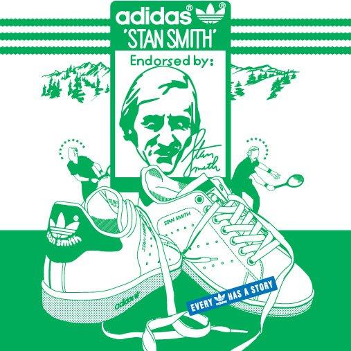 不成疯不成魔 人手一双小白鞋 Adidas Stan Smith