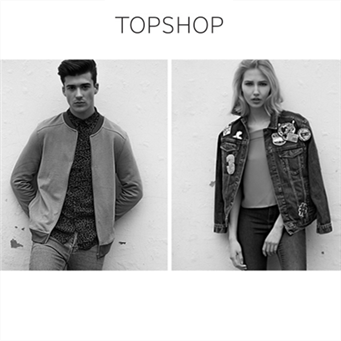 Topshop&Topman 英国潮牌男女服饰闪购