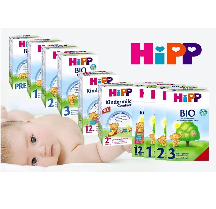 Hipp喜宝奶粉各系列