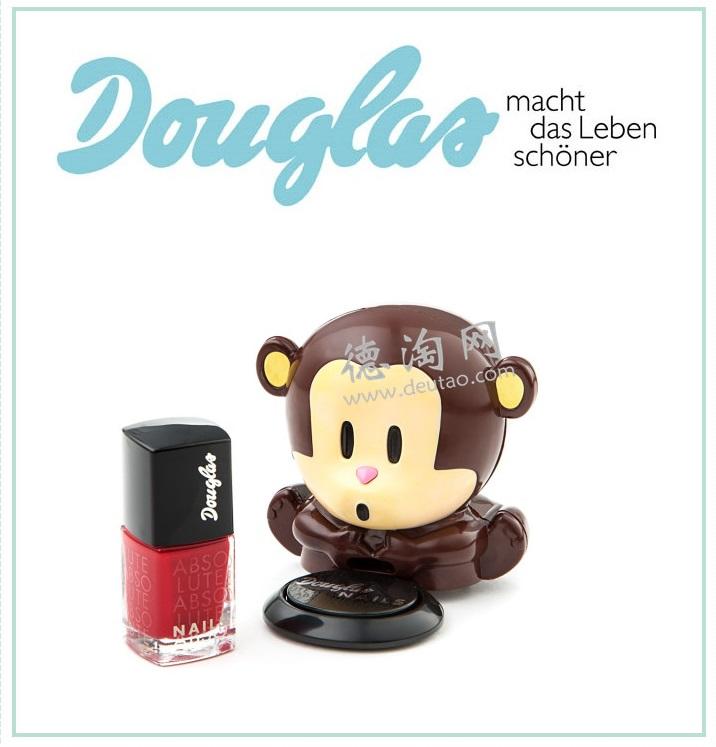 douglas家两件套 指甲油+小猴子指甲油吹干器