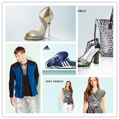 ADIDAS男女运动鞋/LUXURY SUMMER SHOES奢华夏日女鞋/JUST CAVALLI男女服饰及鞋包