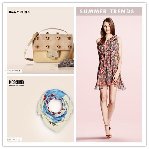 Jimmy Choo鞋子包包专场&Moschino配饰&Summer Trends夏日连衣裙