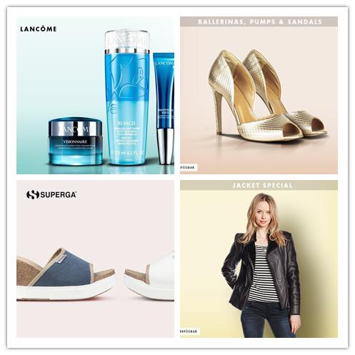 Lancome护肤&BALLERINAS, PUMPS & SANDALS女鞋&SUPERGA凉鞋&JACKET SPECIAL