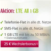 德国全网通话包打+包发短信+2GB LTE高速上网手机卡