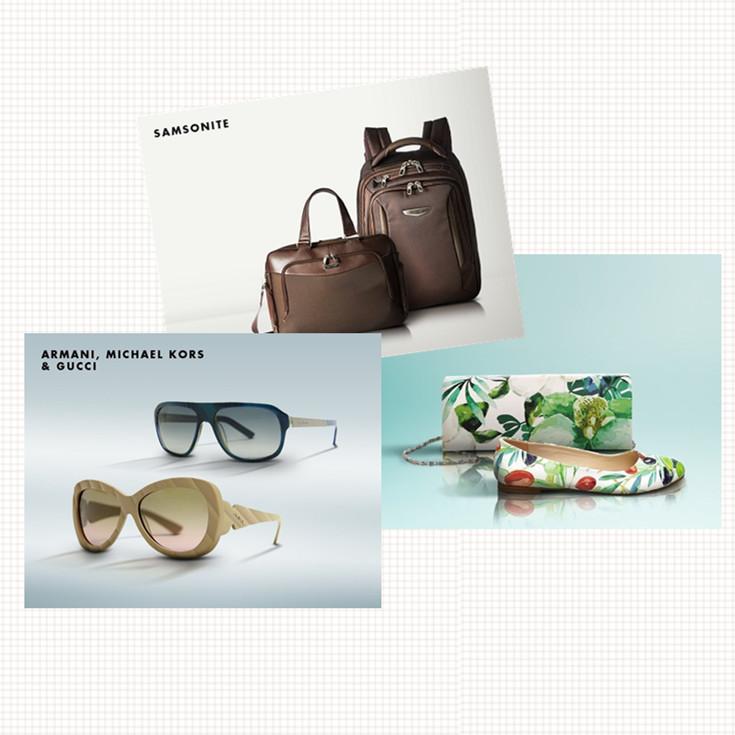 Armani,Michael Kors&GUCCI太阳镜/BOMONTY时尚女鞋/Samsonite新秀丽品质背包