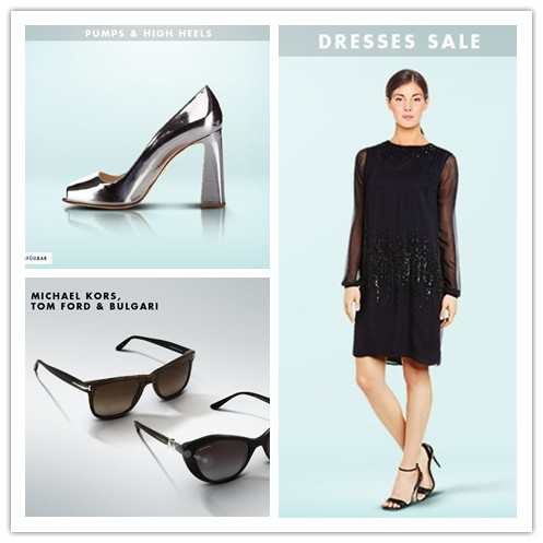 Michael Kors, Tom Ford & Bulgari墨镜&Pumps & High Heels女鞋&夏日连衣裙