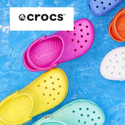 清爽洞洞鞋 Crocs 男女及儿童鞋履