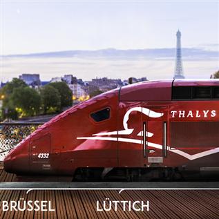 Thalys高铁车票