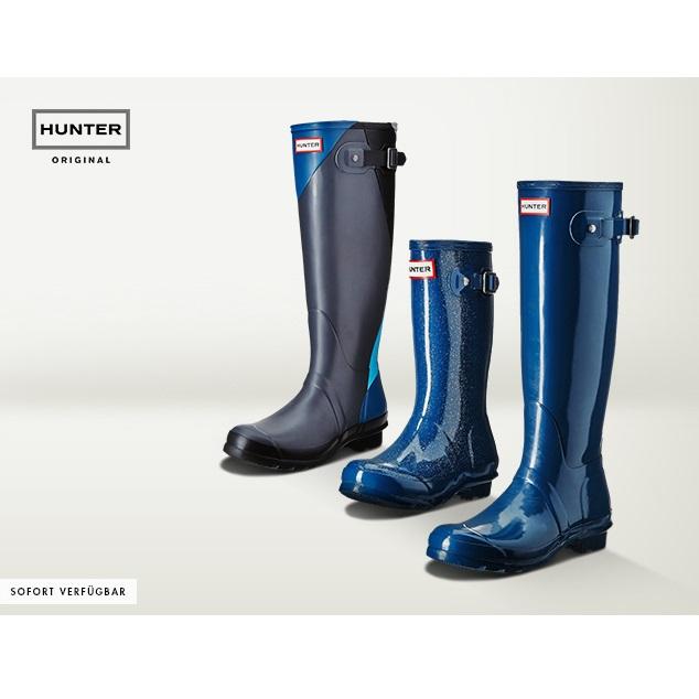 雨季也时尚 Hunter雨靴