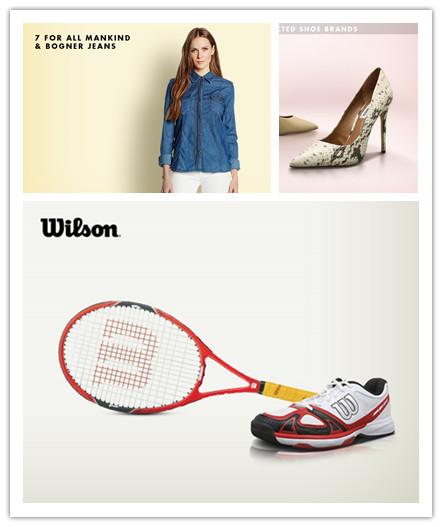 7 For All Mankind特卖/多品牌女鞋精选/WILSON网球服饰